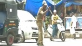 Is he a dancer or a policeman? He's a dancing traffic policeman