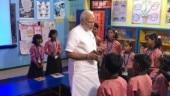 PM Modi celebrates birthday with school children, offers prayers at Kashi Vishwanath temple