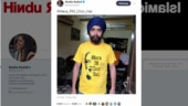 Did BJP leader Tajinder Bagga wear a T-shirt that called PM Modi a thief?