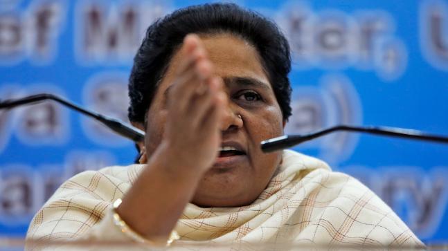 Mayawati attacks BJP