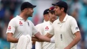 James Anderson holds back tears while talking about Alastair Cook retirement