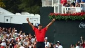Tiger Woods wins Tour Championship in Atlanta to capture first title since 2013