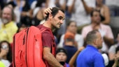 Roger Federer lost his first-ever US Open match to a player ranked outside top 50 in world rankings. (Reuters Photo)