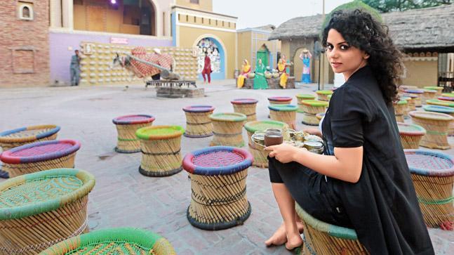 Manjot Kaur, Location: Haveli Rangla Punjab