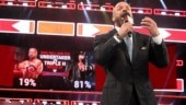 Triple H announced on WWE Monday Night RAW that he will put The Undertaker down out of respect