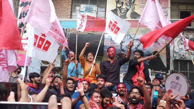 jnu election result