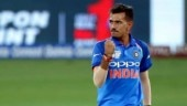Asia Cup 2018, India vs Pakistan: Yuzvendra Chahal reached the mark of 50 ODI wickets in 30 matches. (AP Photo)