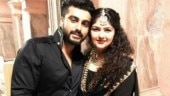 Arjun Kapoor came to be with Anshula after she was hospitalised.