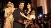 Aishwarya Rai Bachchan is walking the ramp for fashion designer Manish Malhotra at an upcoming fashion event