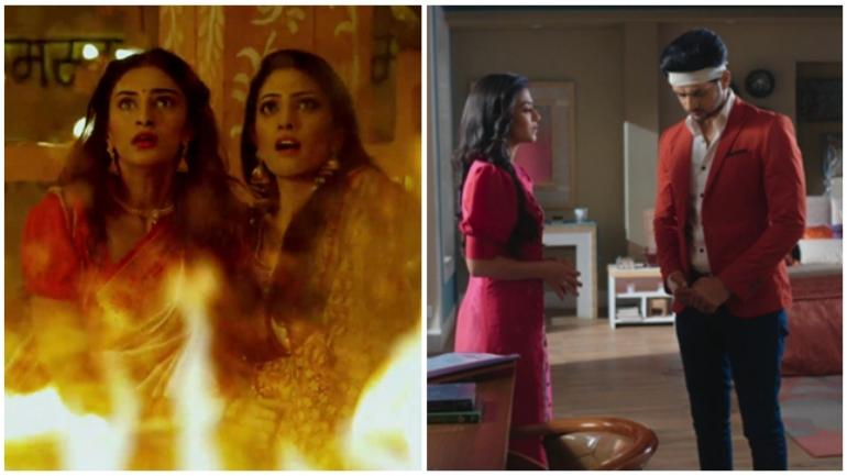 Daily telly updates: Prerna gets stuck in fire in Kasauti Zindagi