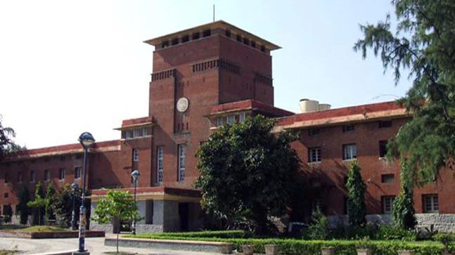 Violence at Delhi University