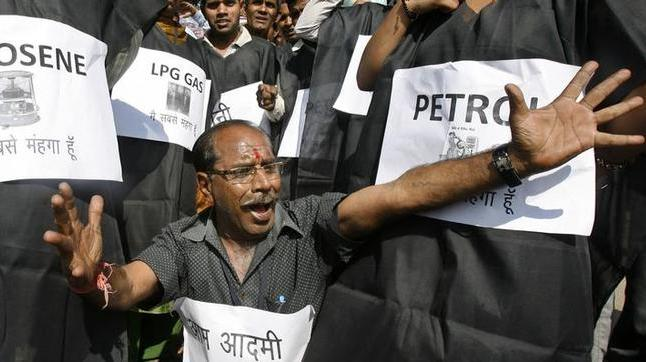 Petrol price in Delhi crossed the 80 rupee mark yesterday for the first time in history. (File photo: Reuters)