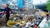 East Delhi stinks as sanitary workers' strikeenters 17th day