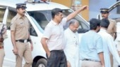 Bishop Franco Mulakkal leaves after questioning by Kerala SIT.