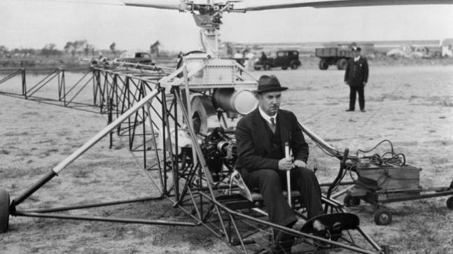 Igor Sikorsky: Father of helicopters who also designed ocean