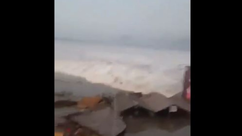 Tsunami in Indonesia