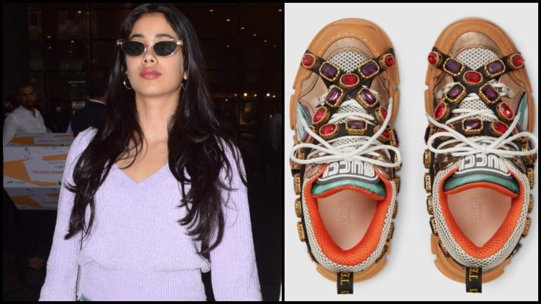 Janhvi Kapoor wore a pair of Gucci shoes worth Rs 1.2 lakh but the Internet was not impressed
