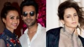 Rajkummar Rao and Patralekhaa have reacted to rumours of her walking out of Panga.