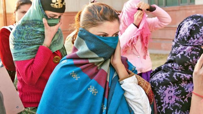 Women rescued from Delhi brothel
