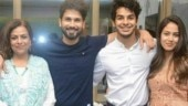 Shahid Kapoor's mother Neelima Azeem: The family is complete now