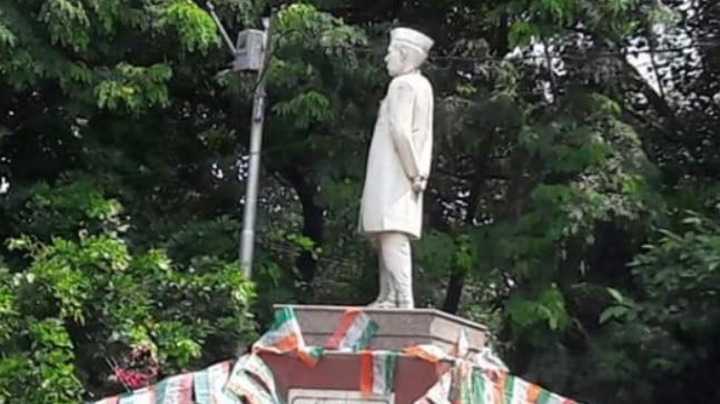 Nehru statue