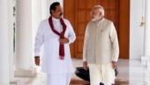 Former Sri Lankan president Rajapaksa blows the poll bugle from Delhi