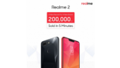 Around 2 lakh Realme 2 units sold in 5 min during first flash sale, next sale on Sept 11