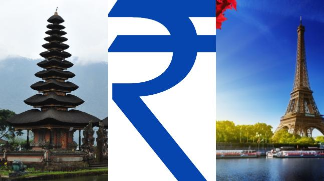 The falling rupee rates might make you head East instead of West for holidays this year