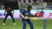 Sri Lanka lost seven wickets within the first 20 overs of their chase