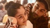 Ranbir Kapoor with niece Samara Photo: Instagram/neetu54