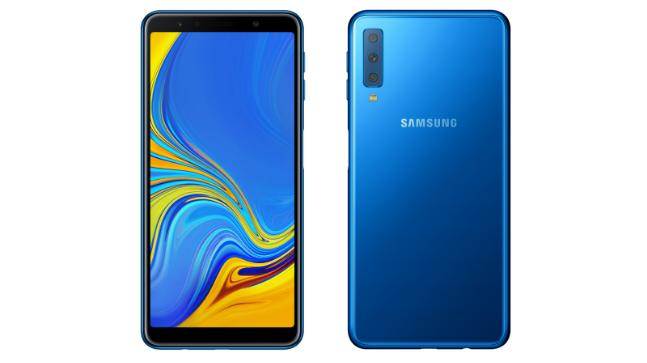 Galaxy A7 (2018) is Samsung\'s first triple-rear-cam phone