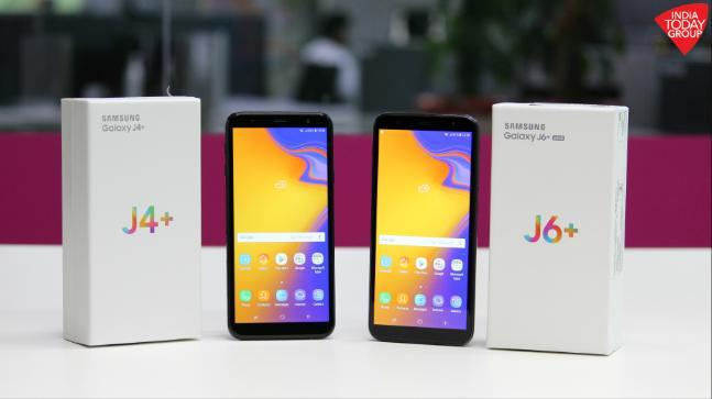 Samsung Galaxy J6 And Galaxy J4 With Infinity Display