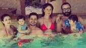 Kareena burns up Maldives in a bikini as Saif-Taimur-Inaaya enjoy pool date