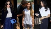 Isha Ambani and Anand Piramal engagement: Sonam and Khushi leave for Italy. See pics, video