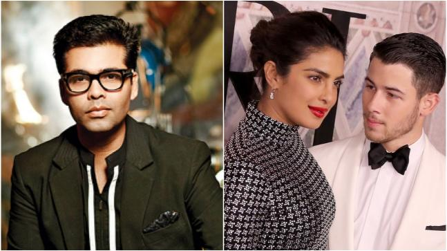 Karan Johar came out in support of Priyanka Chopra and Nick Jonas, and said that the woman in the relationship being older could actually be a good thing.