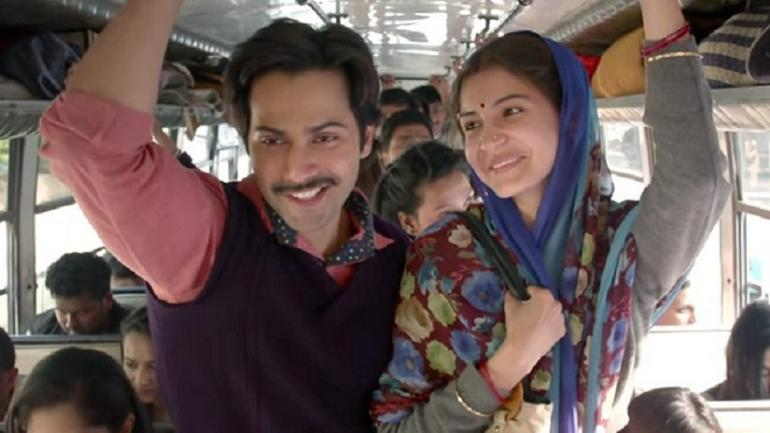 Varun Dhawan and Anushka Sharma in Sui Dhaaga: Made In India
