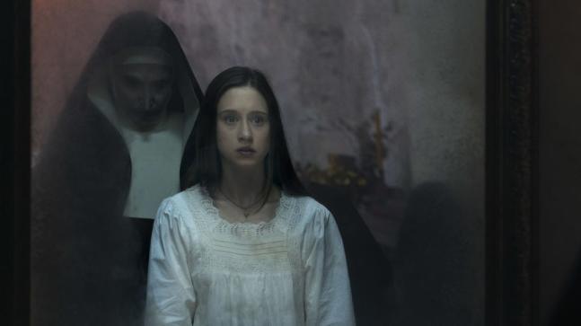A still from The Nun