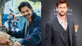 Varun Dhawan and Chris Hemsworth Photo: Instagram/varundvn; Instagram/chrishemsworth