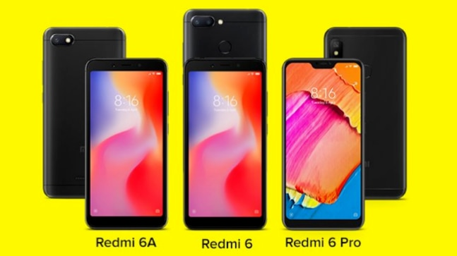 Xiaomi Redmi 6A, Redmi 6 and Redmi 6 Pro launched in India: Specs