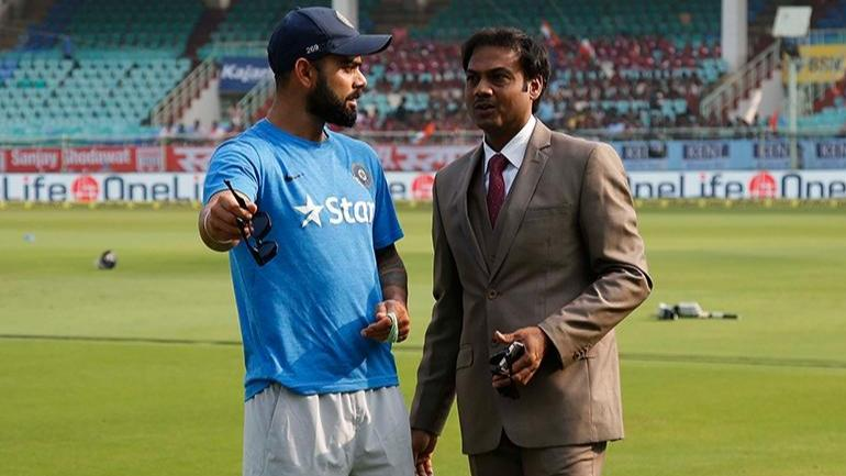 It is being reported that MSK Prasad-led selection committee and the team management are not looking eye to eye (BCCI Photo)