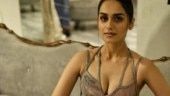 Manushi Chhillar in plunging-neckline feather gown is all things royal
