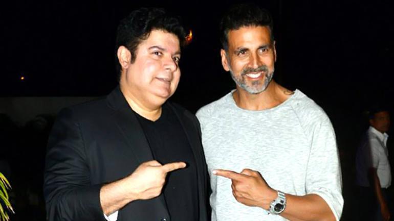 Sajid Khan and Akshay Kumar