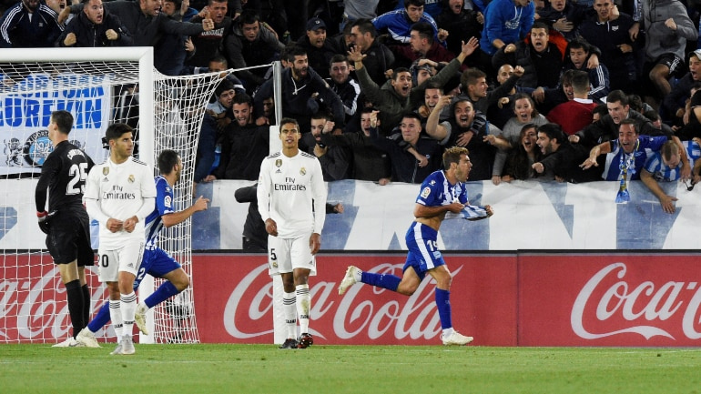 6d4604069fc Alaves registered their first home win over Real Madrid since 1931.  (Reuters Photo)