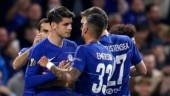 Europa League: Morata cries after ending goal drought, Arsenal cruise through