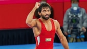Bajrang Punia won gold medals at Commonwealth Games and Asian Games this year. (PTI Photo)