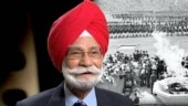 Balbir Singh Senior won gold for India in the 1948 London, 1952 Helsinki and 1956 Melbourne Olympics.