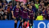 Champions League: Messi-less Barcelona beat Inter 2-0, Tottenham held by PSV
