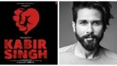 Shahid Kapoor reveals title of Arjun Reddy Hindi remake. See first poster