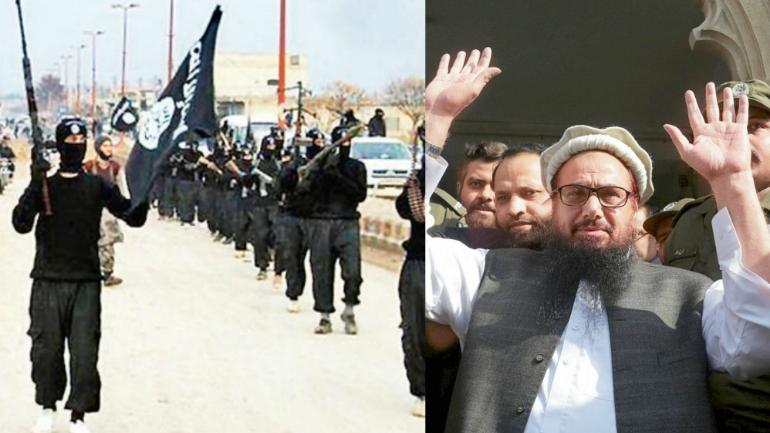 Hafiz Saeed's JuD was recently taken off the list of banned terrorist organisations. (File pic)