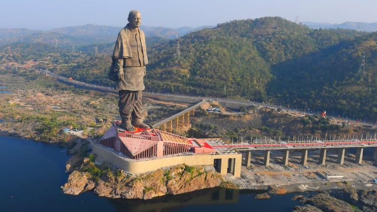 Statue of Unity: Modi inaugurates 182-metre-tall monument to Sardar Patel